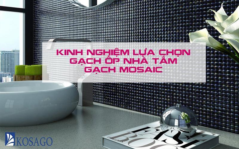 Bí quyết chọn gạch lát sàn nhà tắm